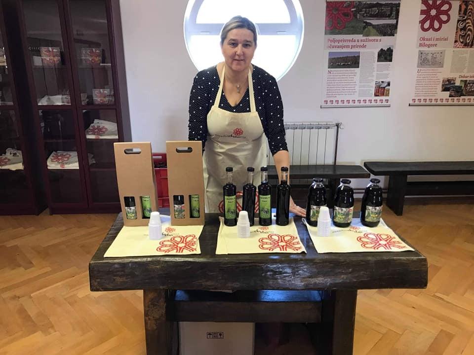 Prodaja sokova, likera, i vina od aronije